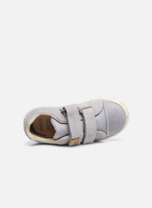 Sneaker Geox B Kilwi Boy B02A7J x WWF grau ansicht von links