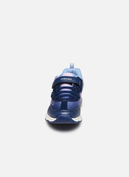 Sneakers Geox J SpaceGirl Club J028VD x Frozen Blauw model