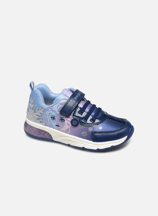 Sneakers Geox J SpaceGirl Club J028VD x Frozen Blauw detail