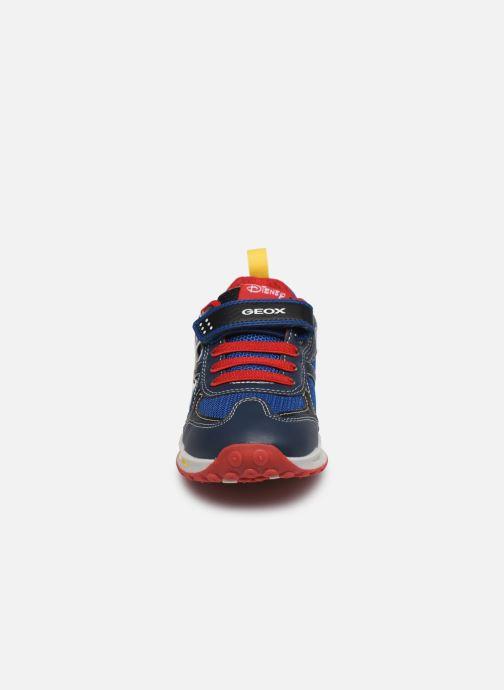 Sneakers Geox J Shuttle Boy J0294A x Mickey Blauw model