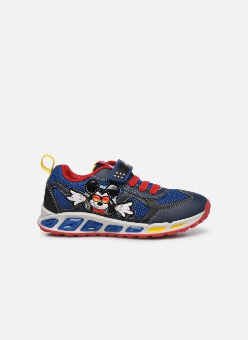 Sneakers Geox J Shuttle Boy J0294A x Mickey Blauw achterkant