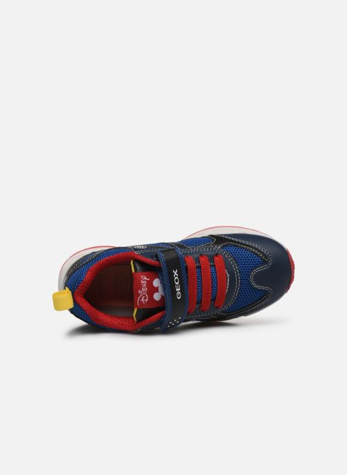 Sneakers Geox J Shuttle Boy J0294A x Mickey Blauw links
