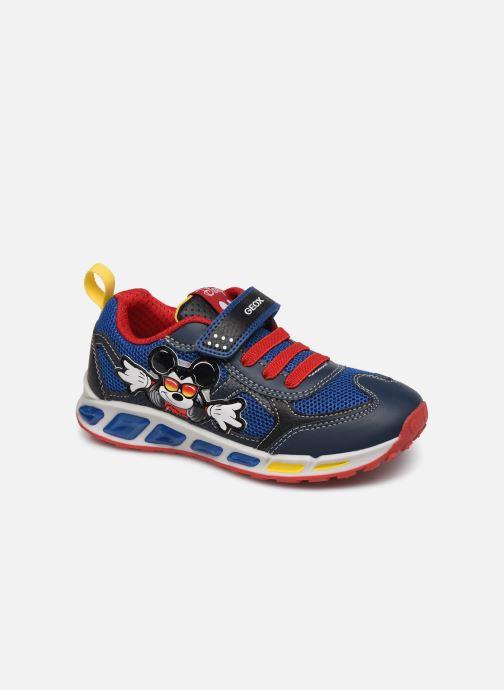 Sneakers Geox J Shuttle Boy J0294A x Mickey Blauw detail