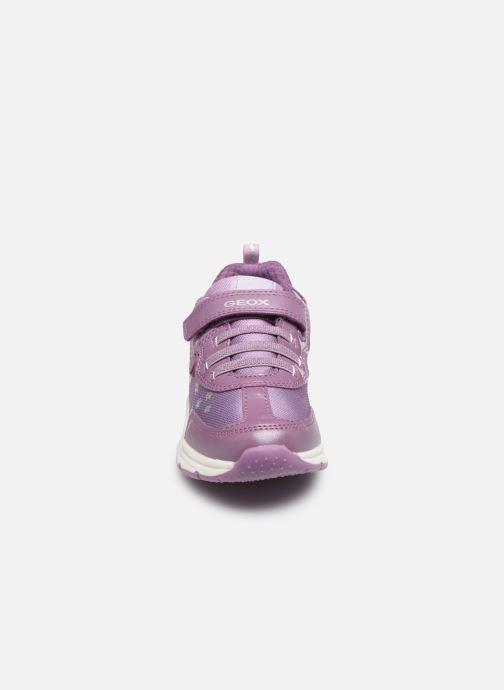 Sneaker Geox J Space Club GirlJ028VD x Frozen lila schuhe getragen