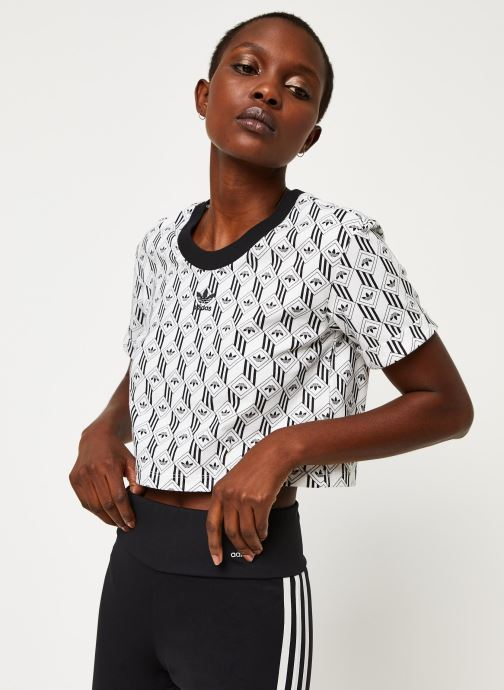 Adidas Originals Cropped T-shirt (blanc) - Vêtements(433220)