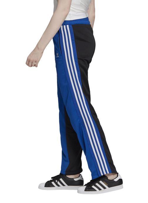 Vêtements adidas originals Trackpants Bleu vue face