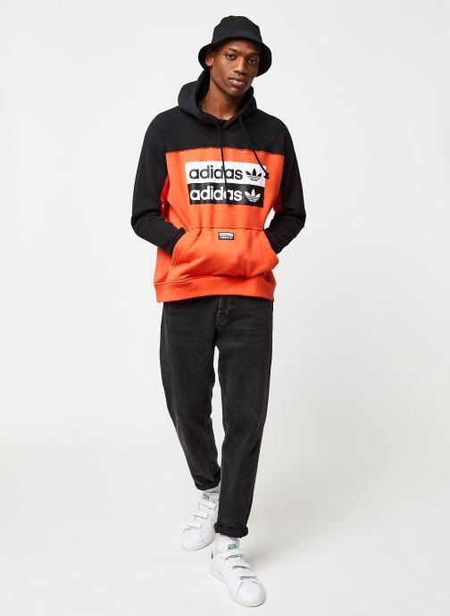 Vêtements adidas originals D Oth Hoody Orange vue bas / vue portée sac