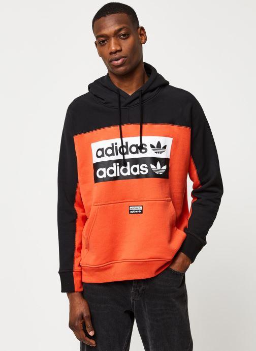 Vêtements adidas originals D Oth Hoody Orange vue droite