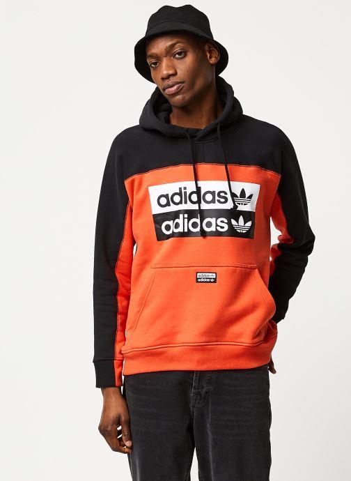 Vêtements adidas originals D Oth Hoody Orange vue détail/paire