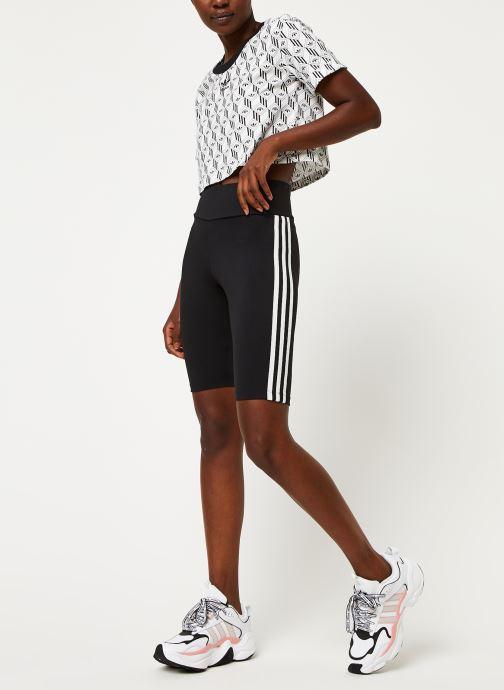Vêtements adidas originals Short Tight Noir vue bas / vue portée sac
