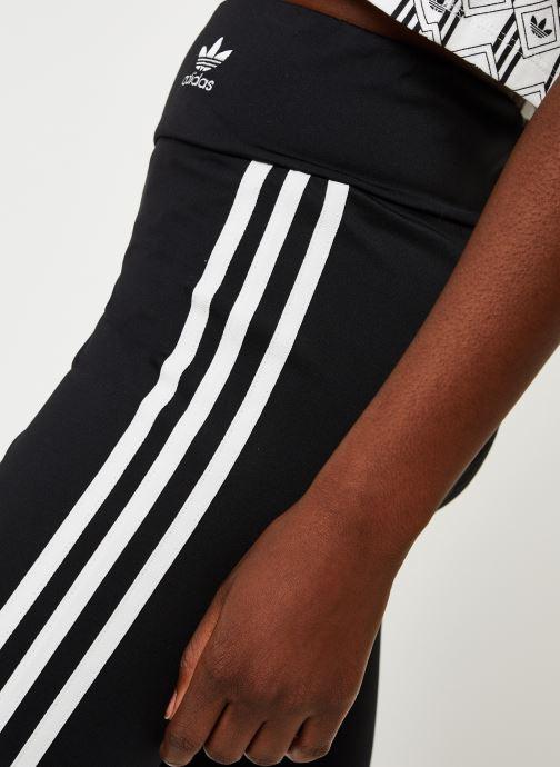 Kleding adidas originals Short Tight Zwart voorkant
