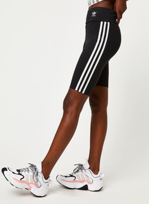 Vêtements adidas originals Short Tight Noir vue détail/paire