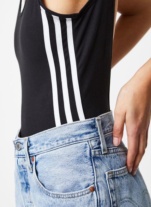 Vêtements adidas originals Cotton Body Noir vue face