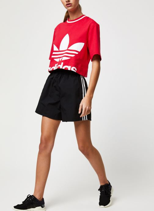 Vêtements adidas originals Short Noir vue bas / vue portée sac