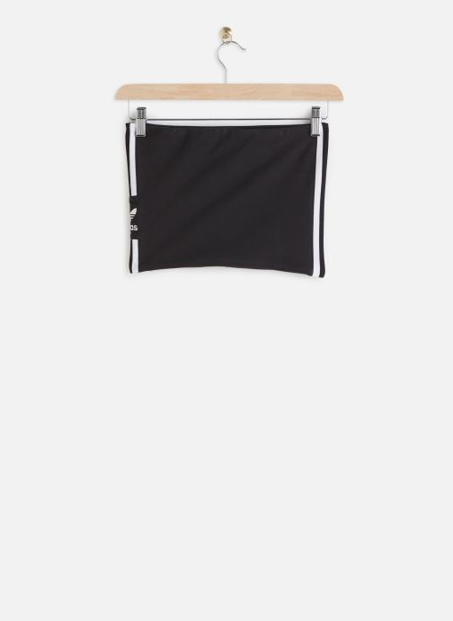 Vêtements adidas originals Tube Top Noir vue bas / vue portée sac