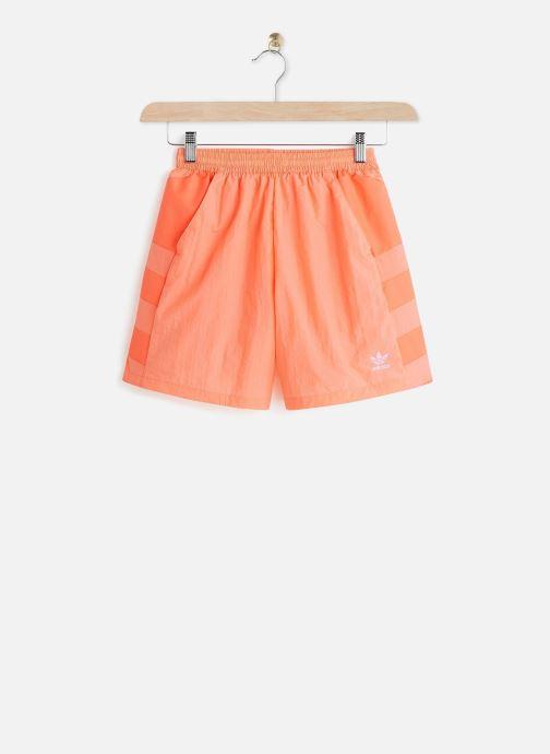 Ropa adidas originals Lrg Logo Short Naranja vista de detalle / par