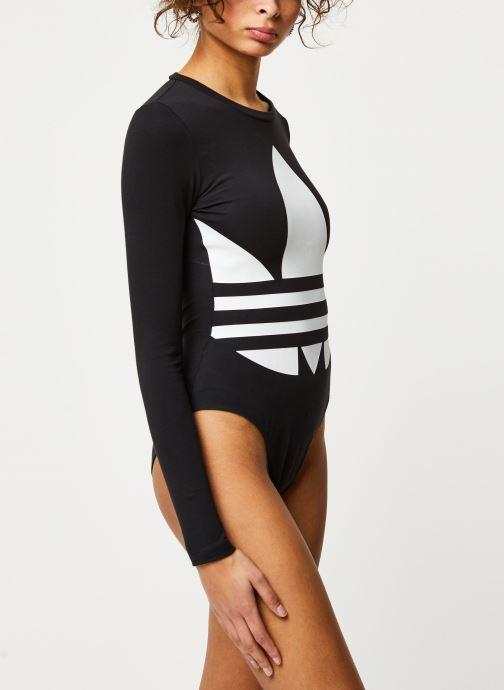 adidas originals Body - Lrg Logo Body (Noir) - Vêtements chez Sarenza (433255) bKNgX
