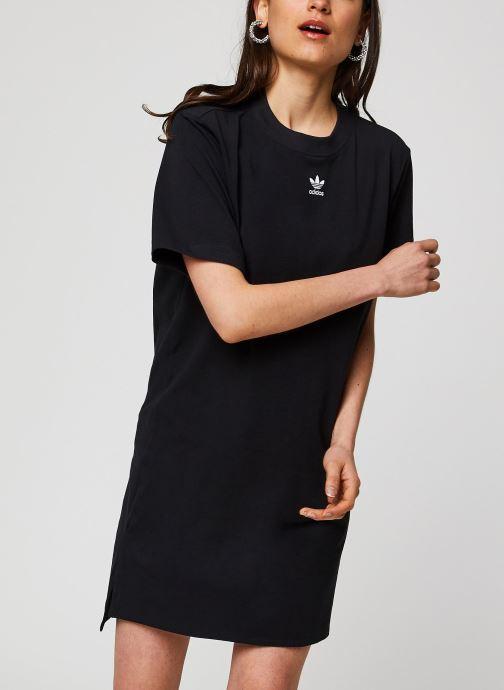 Vêtements adidas originals Trf Dress Noir vue détail/paire