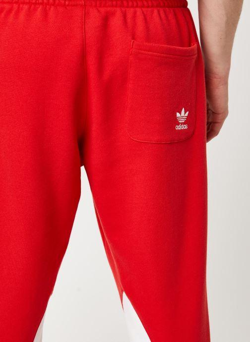 Vêtements adidas originals Bg Trefoil Pant Rouge vue face
