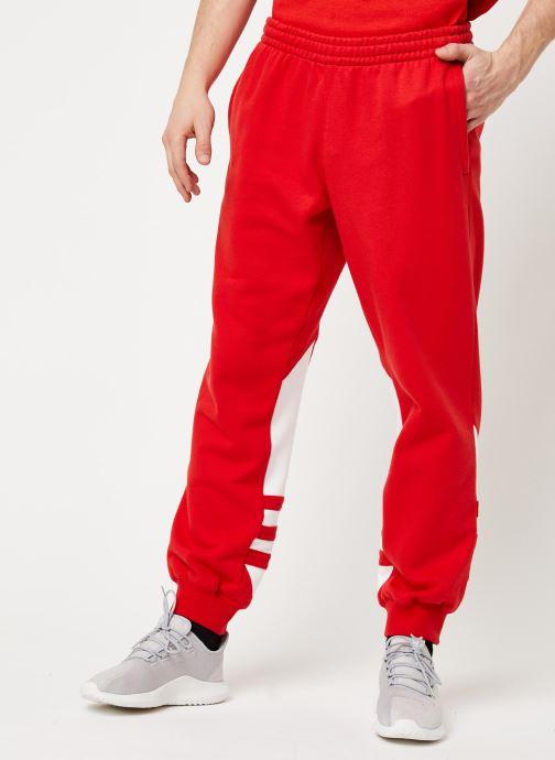 Vêtements adidas originals Bg Trefoil Pant Rouge vue détail/paire