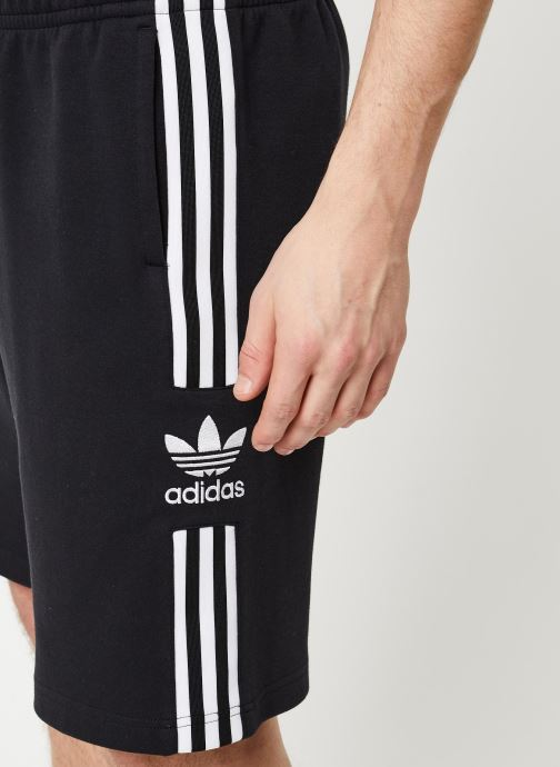 Vêtements adidas originals Lockup Lng Shrt Noir vue face