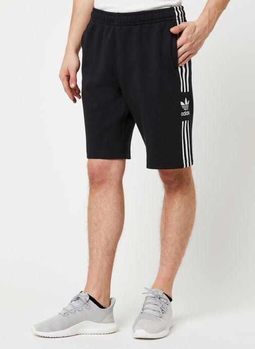 Vêtements adidas originals Lockup Lng Shrt Noir vue détail/paire