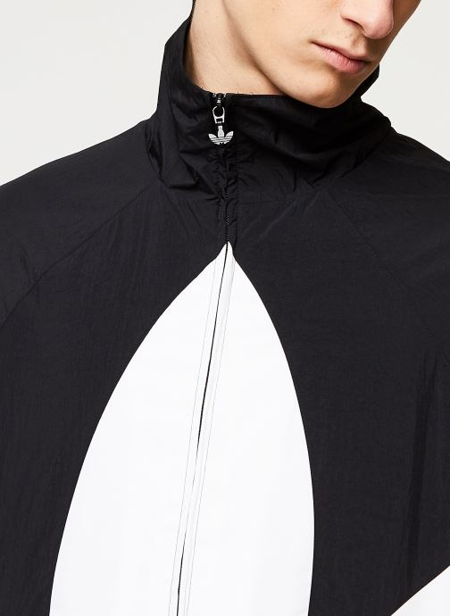 Vêtements adidas originals Bg Trefoil Tt Noir vue face