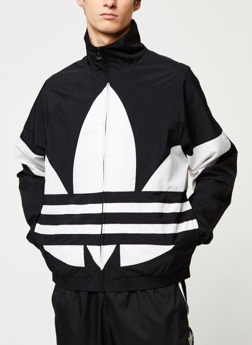 Vêtements adidas originals Bg Trefoil Tt Noir vue détail/paire
