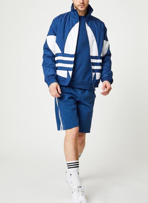 Vêtements adidas originals Bg Trefoil Tt Bleu vue bas / vue portée sac