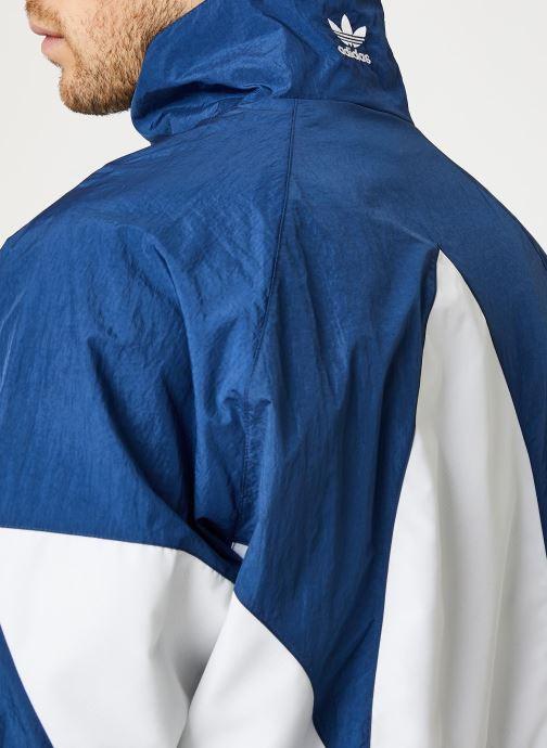 Vêtements adidas originals Bg Trefoil Tt Bleu vue face