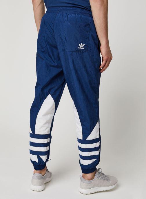 Vêtements adidas originals Bg Trefoil Tp Bleu vue portées chaussures