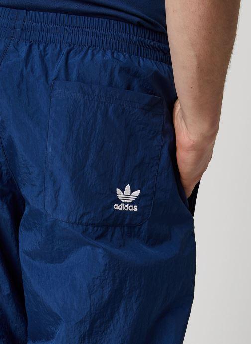 Vêtements adidas originals Bg Trefoil Tp Bleu vue face