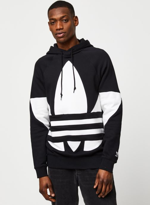 Vêtements adidas originals Bg Trefoil Hood Noir vue détail/paire