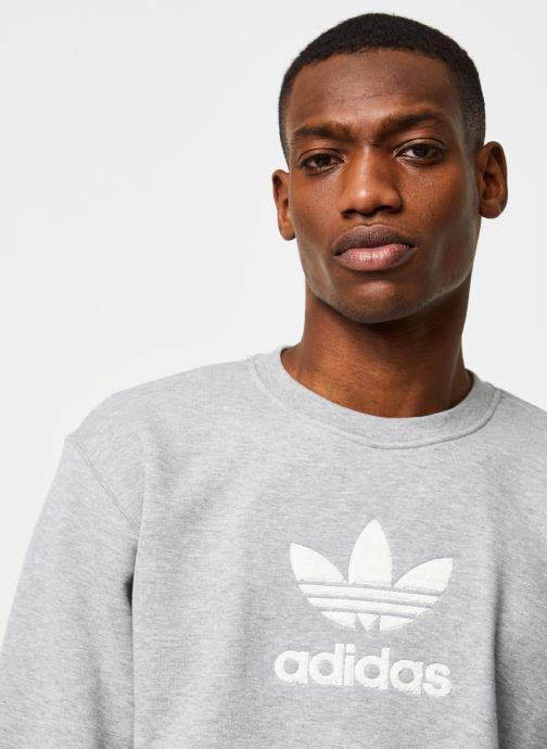 Vêtements adidas originals Adiclr Prm Crew Gris vue face