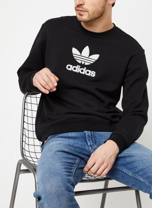 Vêtements adidas originals Adiclr Prm Crew Noir vue détail/paire