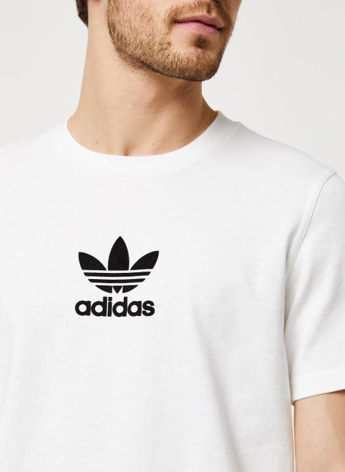 Vêtements adidas originals Adiclr Prm Tee Blanc vue face