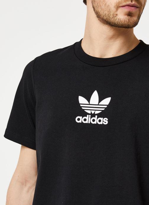 Vêtements adidas originals Adiclr Prm Tee Noir vue face