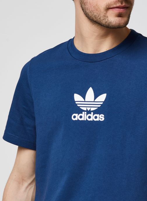 Vêtements adidas originals Adiclr Prm Tee Bleu vue face