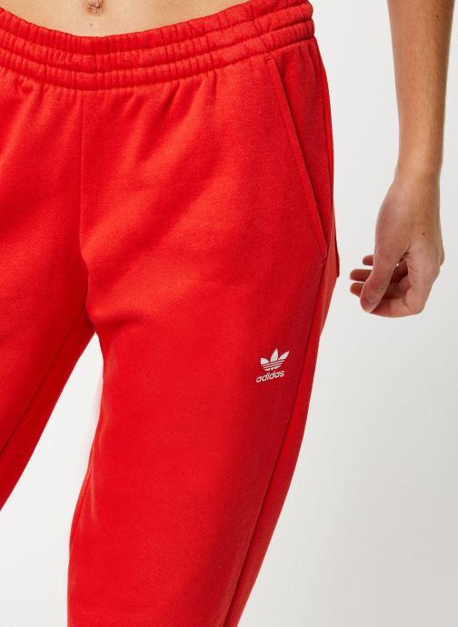 Vêtements adidas originals Lrg Logo Sweat Rouge vue face