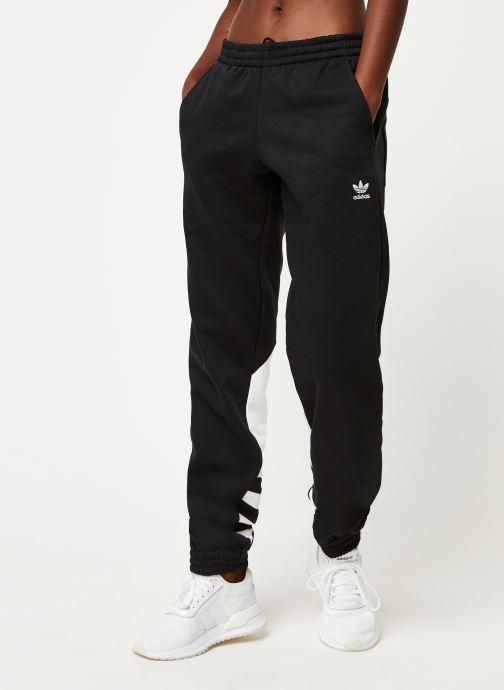 Vêtements adidas originals Lrg Logo Sweat Noir vue détail/paire
