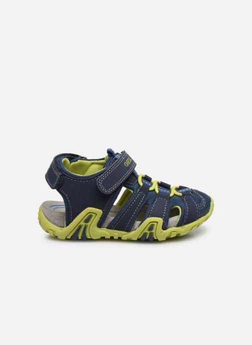 Sandales et nu-pieds Geox B Sandal Kraze/B0224A Bleu vue derrière