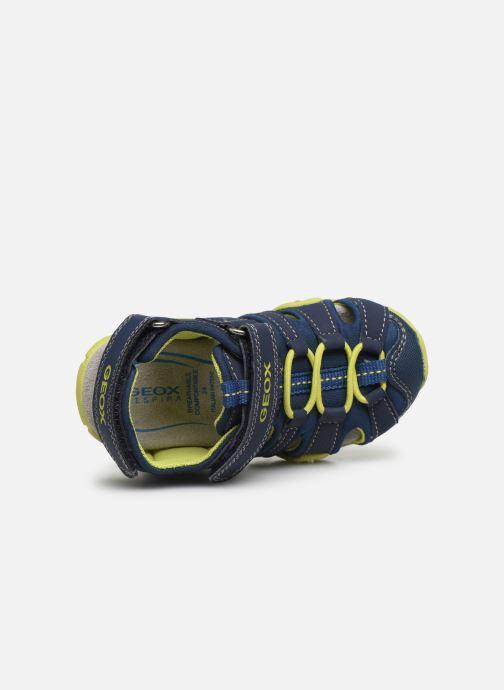 Sandales et nu-pieds Geox B Sandal Kraze/B0224A Bleu vue gauche