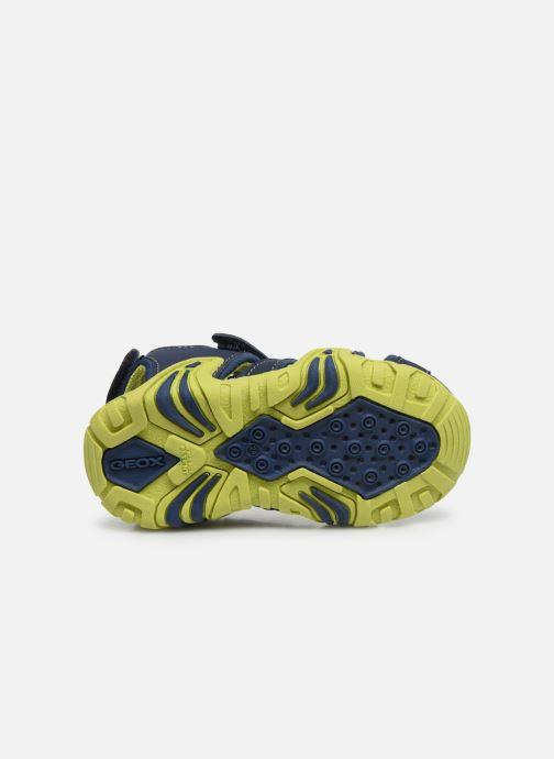 Sandales et nu-pieds Geox B Sandal Kraze/B0224A Bleu vue haut
