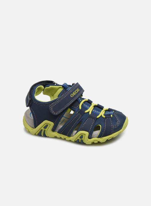 Sandales et nu-pieds Geox B Sandal Kraze/B0224A Bleu vue détail/paire