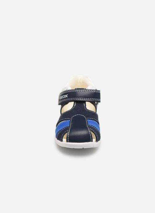 Sandales et nu-pieds Geox B Elthan Boy/B021PC Bleu vue portées chaussures