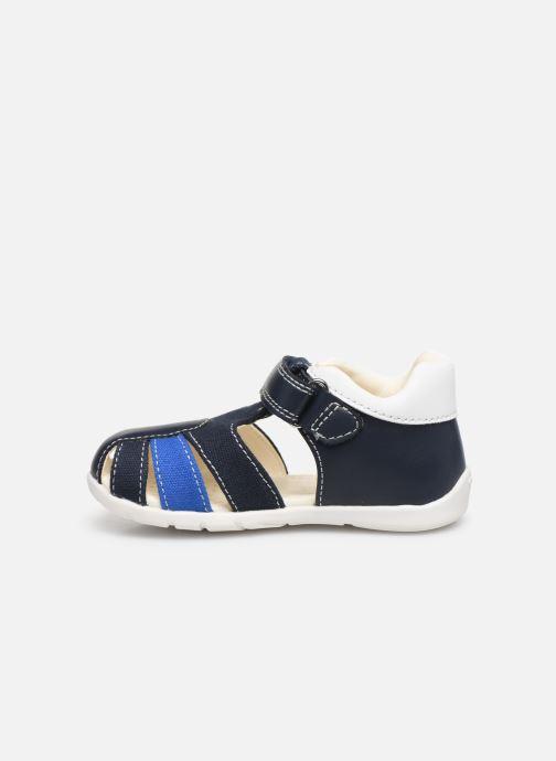 Sandales et nu-pieds Geox B Elthan Boy/B021PC Bleu vue face