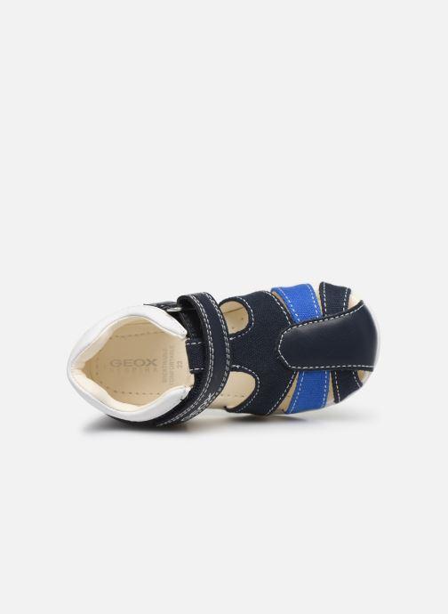 Sandales et nu-pieds Geox B Elthan Boy/B021PC Bleu vue gauche