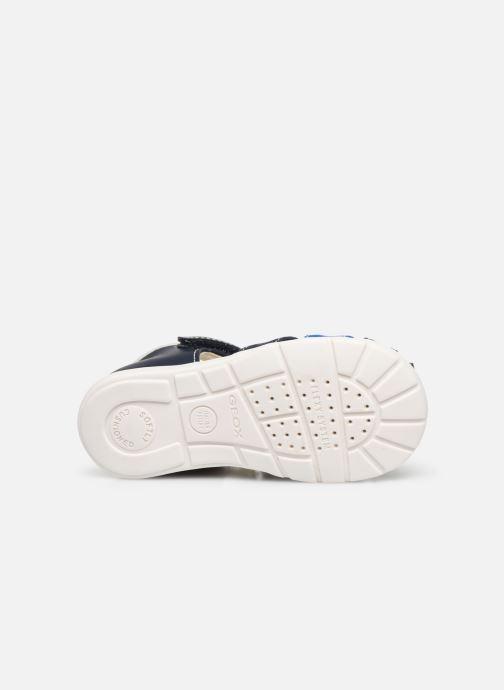 Sandales et nu-pieds Geox B Elthan Boy/B021PC Bleu vue haut