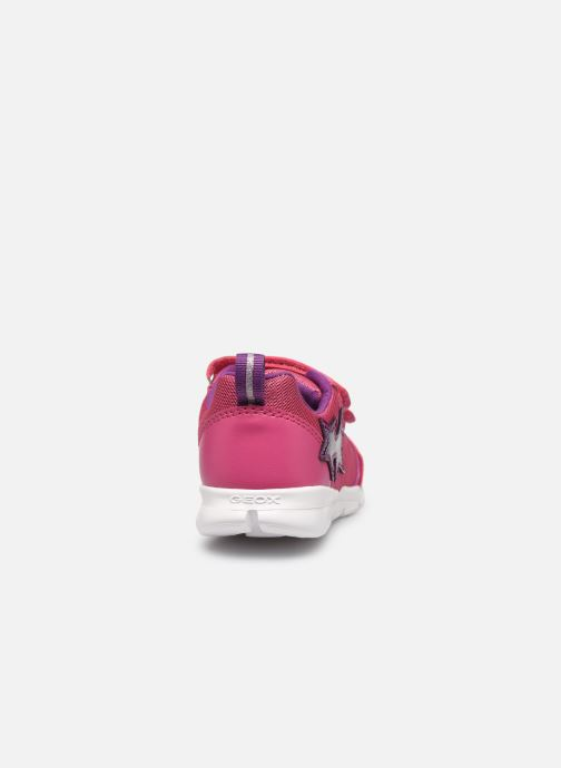 Sneakers Geox B Runner Girl/B02H8C Rosa immagine destra