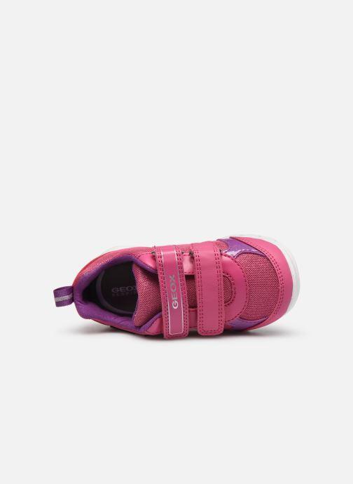 Sneakers Geox B Runner Girl/B02H8C Rosa immagine sinistra